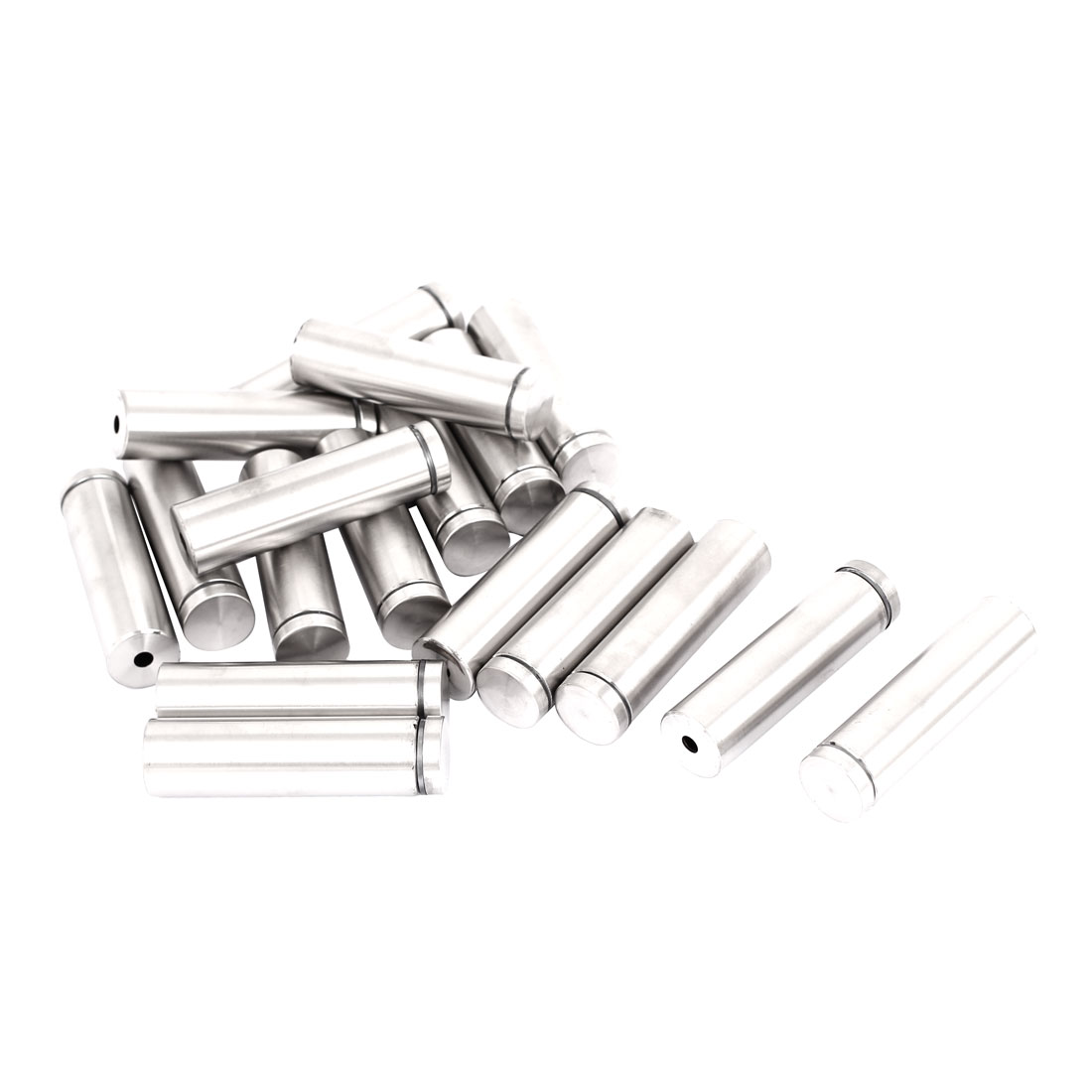 19mm x 70mm Stainless Steel Advertising Frameless Glass Standoff Pins 18pcs