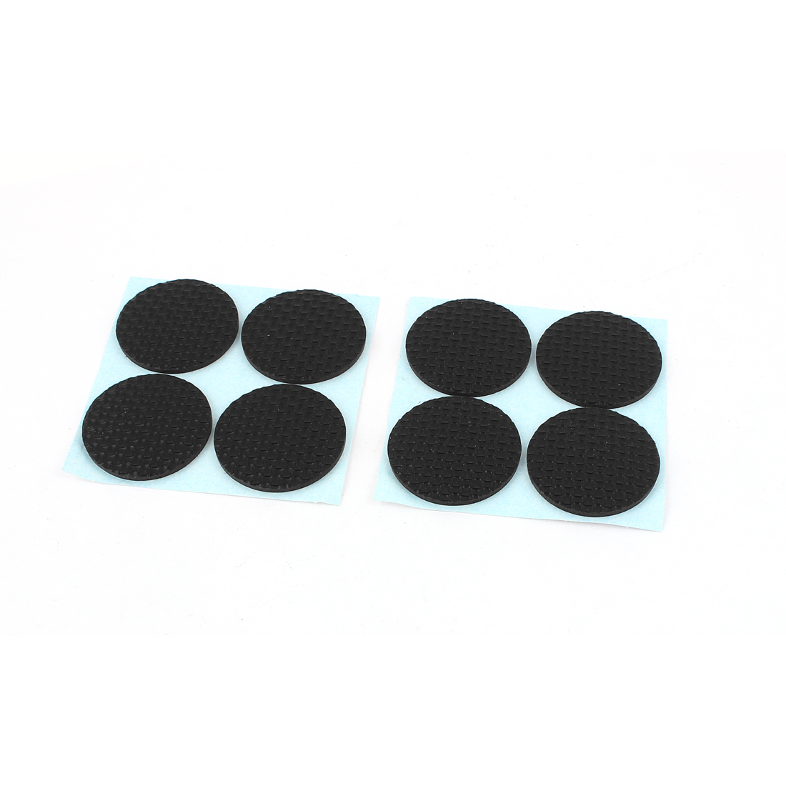 Furniture Cabinet Round Self-adhesive Protection Cushion Pads 8 Pcs Black