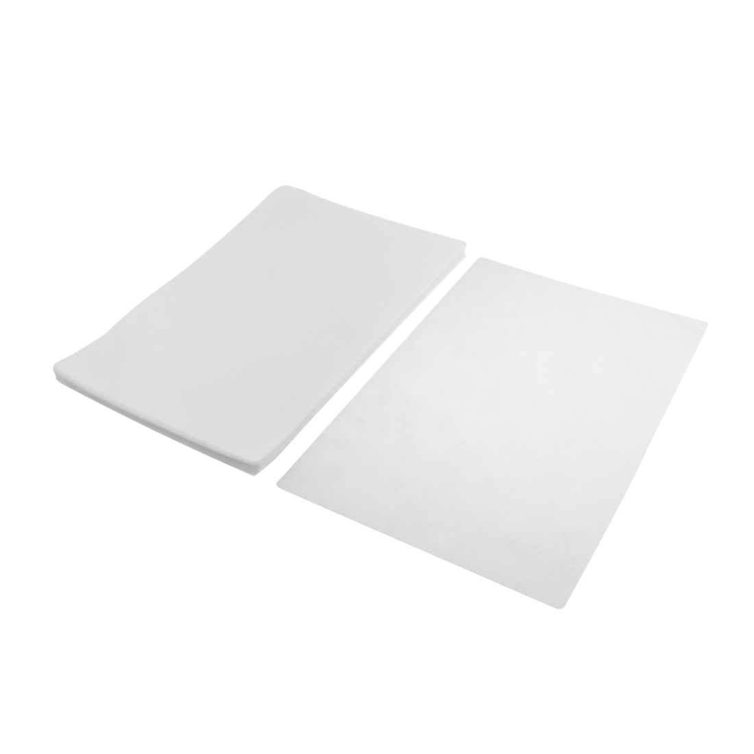 200 Pcs Clear Plastic Photo A4 Paper Cards Laminating Pouch Film 307mmx220mm