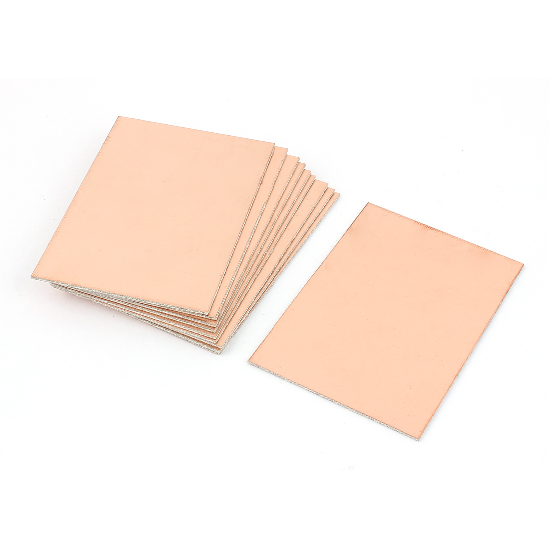 10cm x 7cm x 0.15cm FR-4 Single Side Copper Clad PCB Laminate Board 10 Pcs