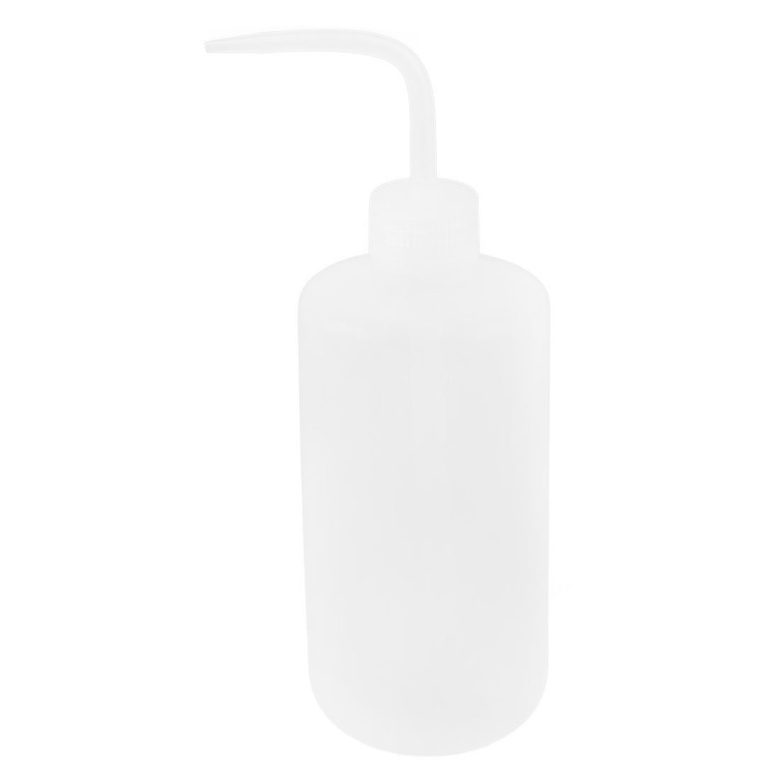 Laboratory Right Angle Bent Tip Plastic Oil Chemical Liquid Water Storage Squeeze Bottle Dispenser 500mL