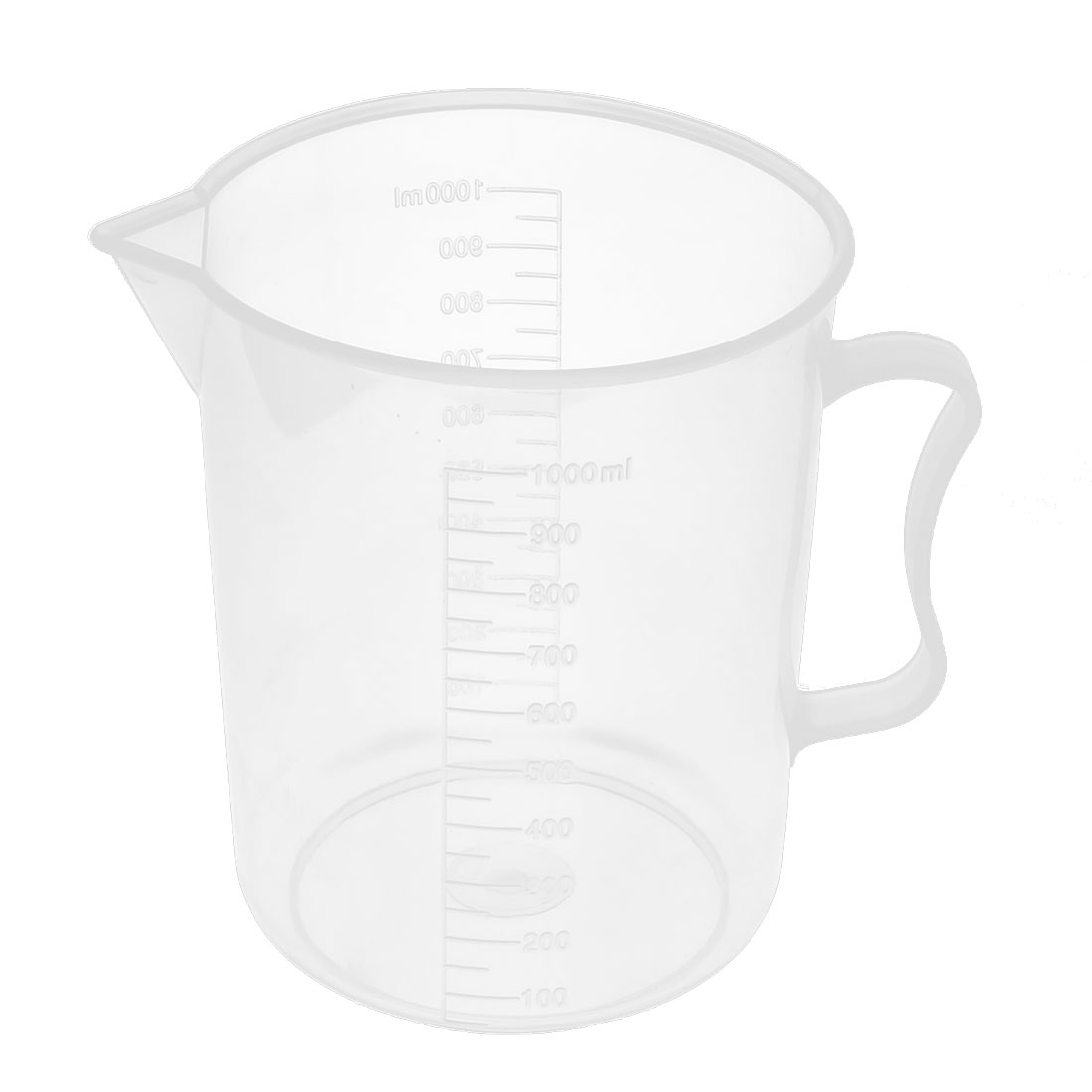 Lab Chemistry Experiment Liquid Storage Measuring Testing Beaker Cup 1000ml