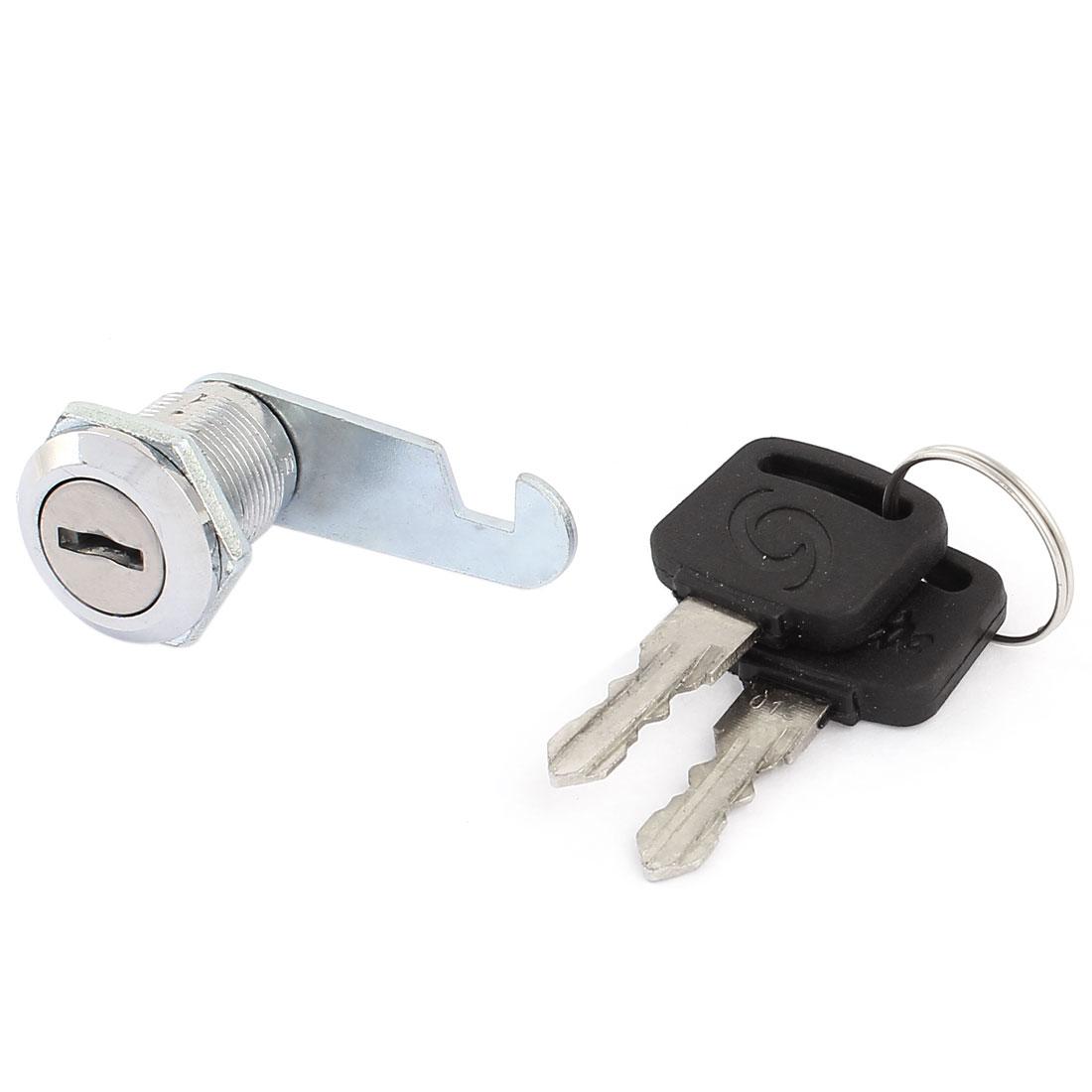 "Mailbox Cabinet 7.9"" Round Head Dia Cylinder Style Cam Lock 2 Keys"