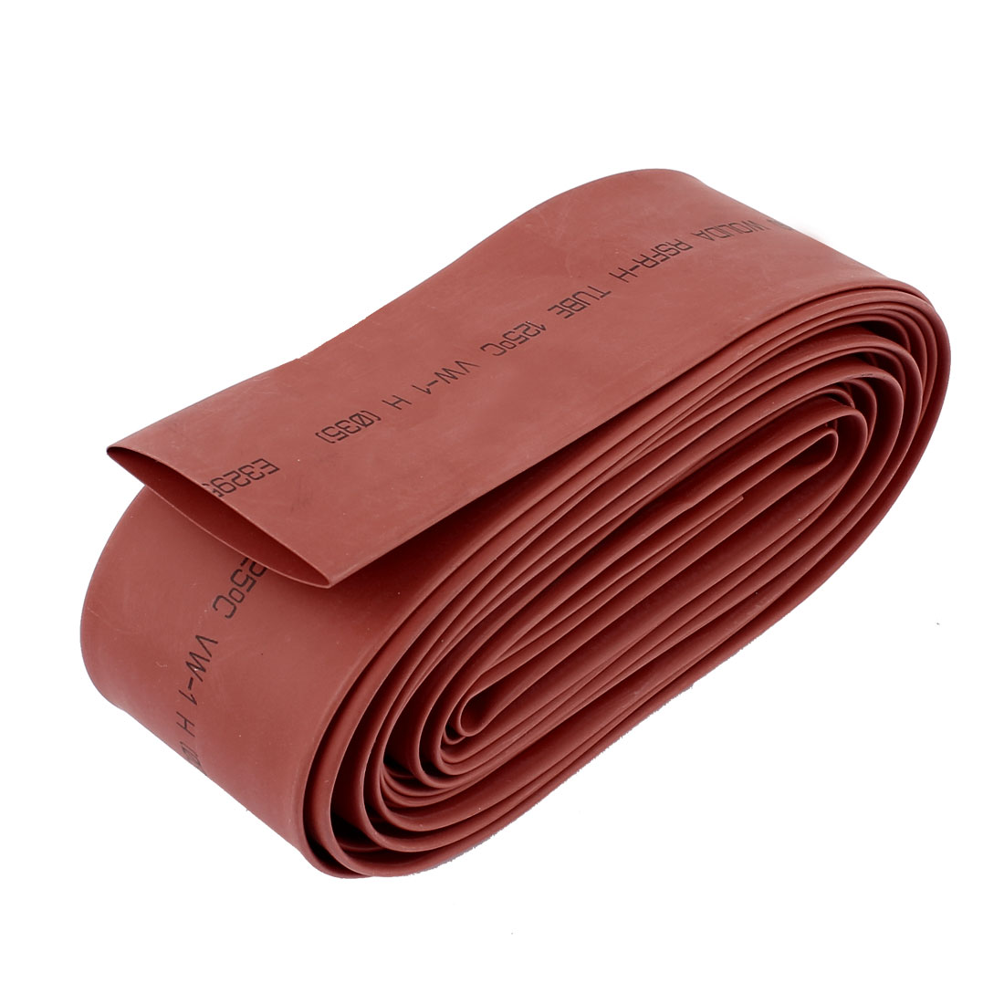 Red 35mm Dia Polyolefin 2:1 Heat Shrink Tubing Wire Wrap Cable Sleeve 5M 16Ft