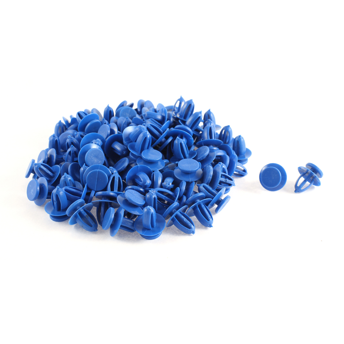 30 Pcs Blue Car Plastic Rivets Trim Fastener Retainer Clips 9mm x 13mm x 17mm