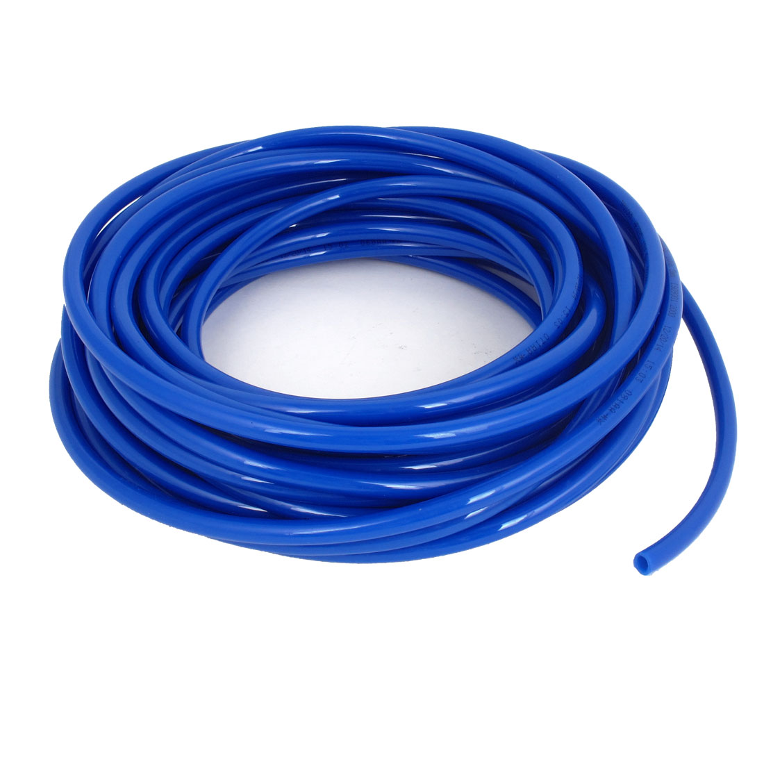 15M Long 10mmx6.5mm Air Fuel Gas Polyurethane Flexible PU Hose Tube Pipe Blue