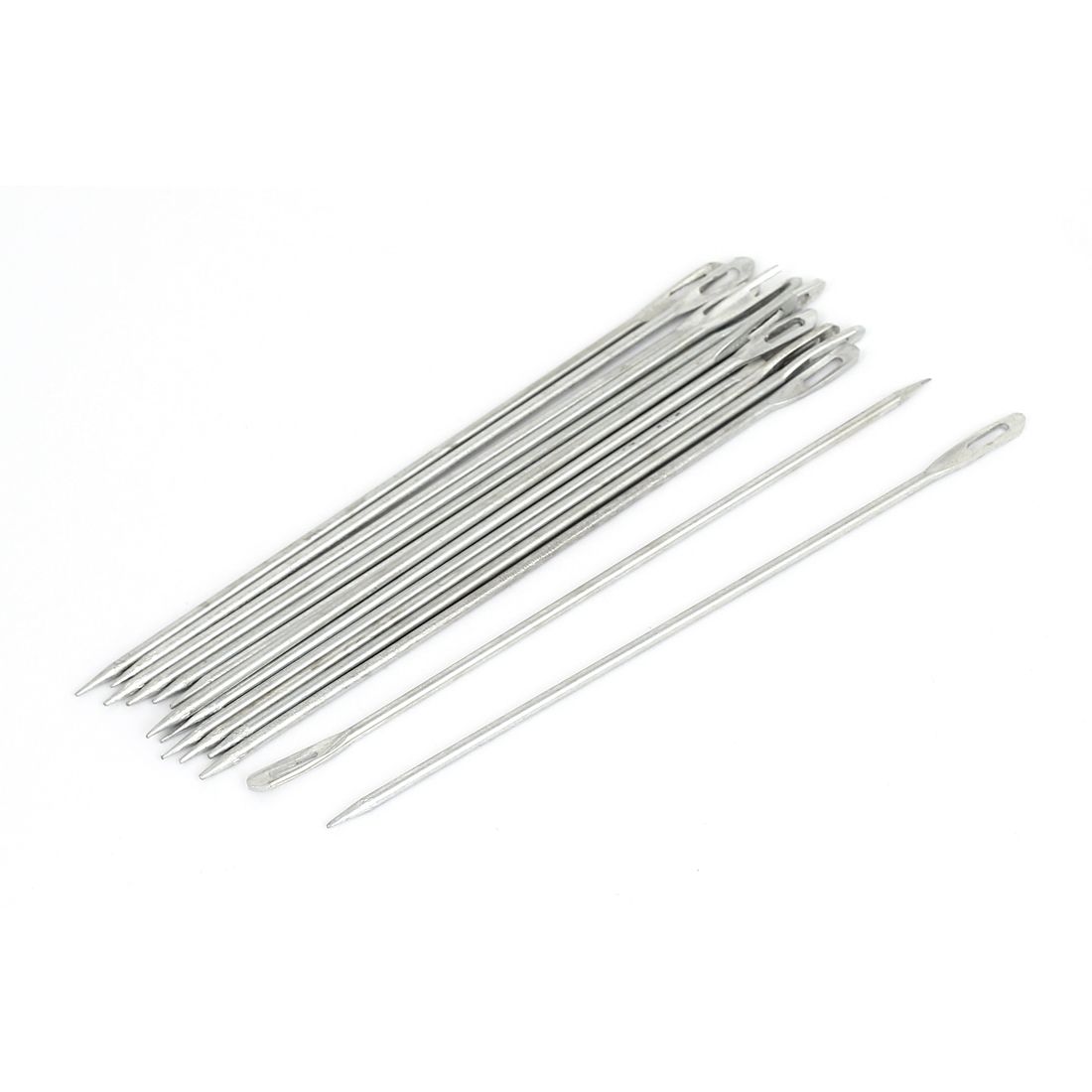 15Pcs Upholstery Repair Metal Sewing Needles for Canvas Leather Carpet