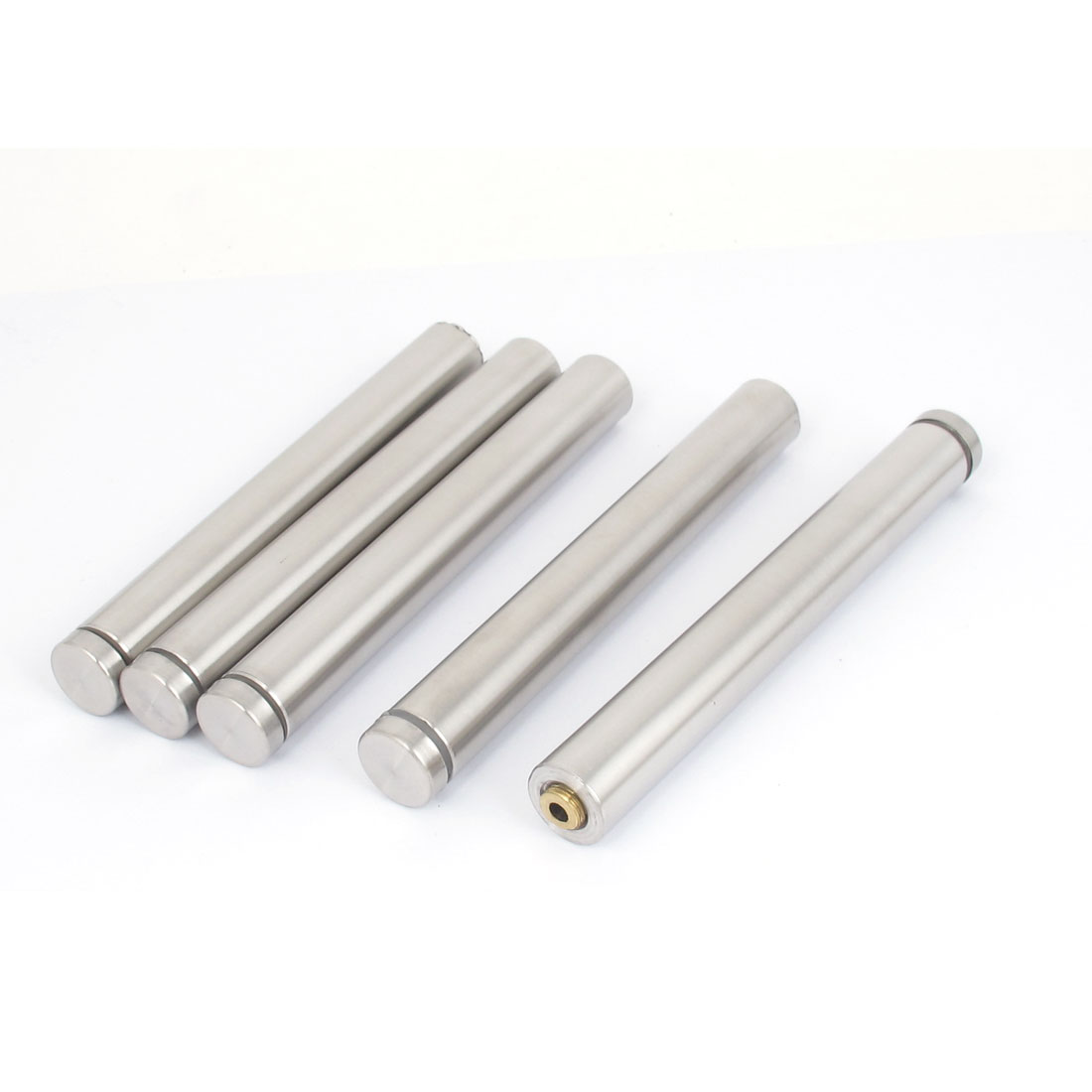 19mmx150mm Stainless Steel Advertisement Nail Glass Wall Connector Standoff 5Pcs
