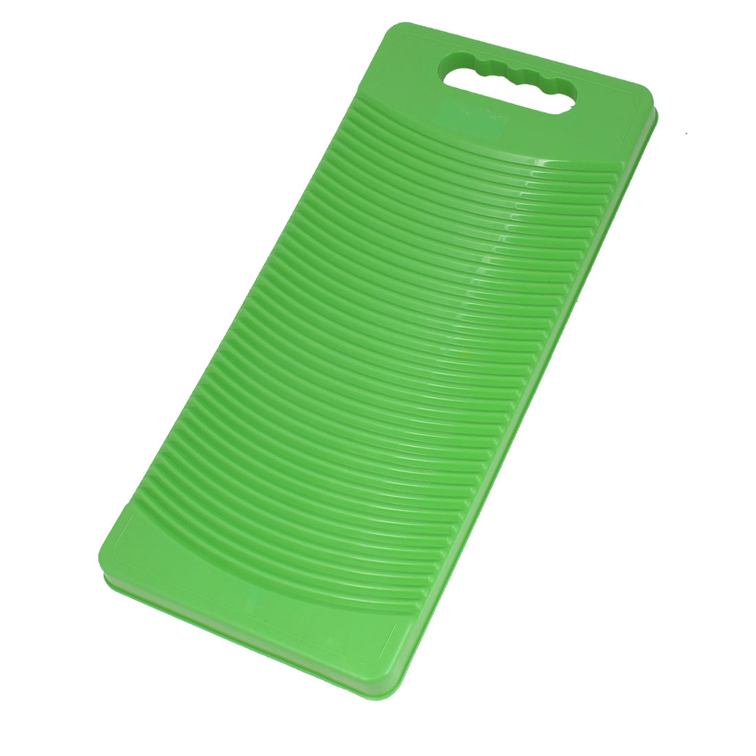 50cm Long Plastic Rectangle Washboard Washing Clothes Laundry Board Green