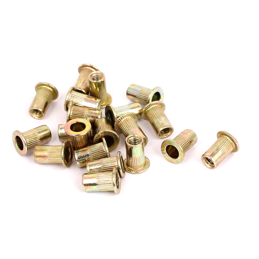 20pcs M4 Countersunk Head Open End Blind Threaded Rivet Nut Nutserts