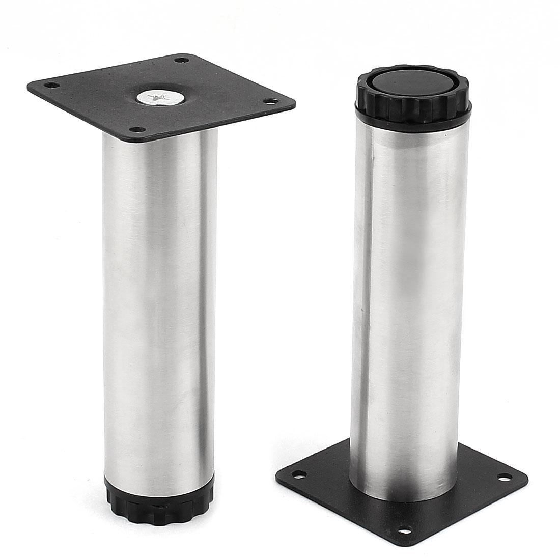 Kitchen Furniture Unit 150mm High Adjustable Cabinet Leg Plinth Feet 2pcs