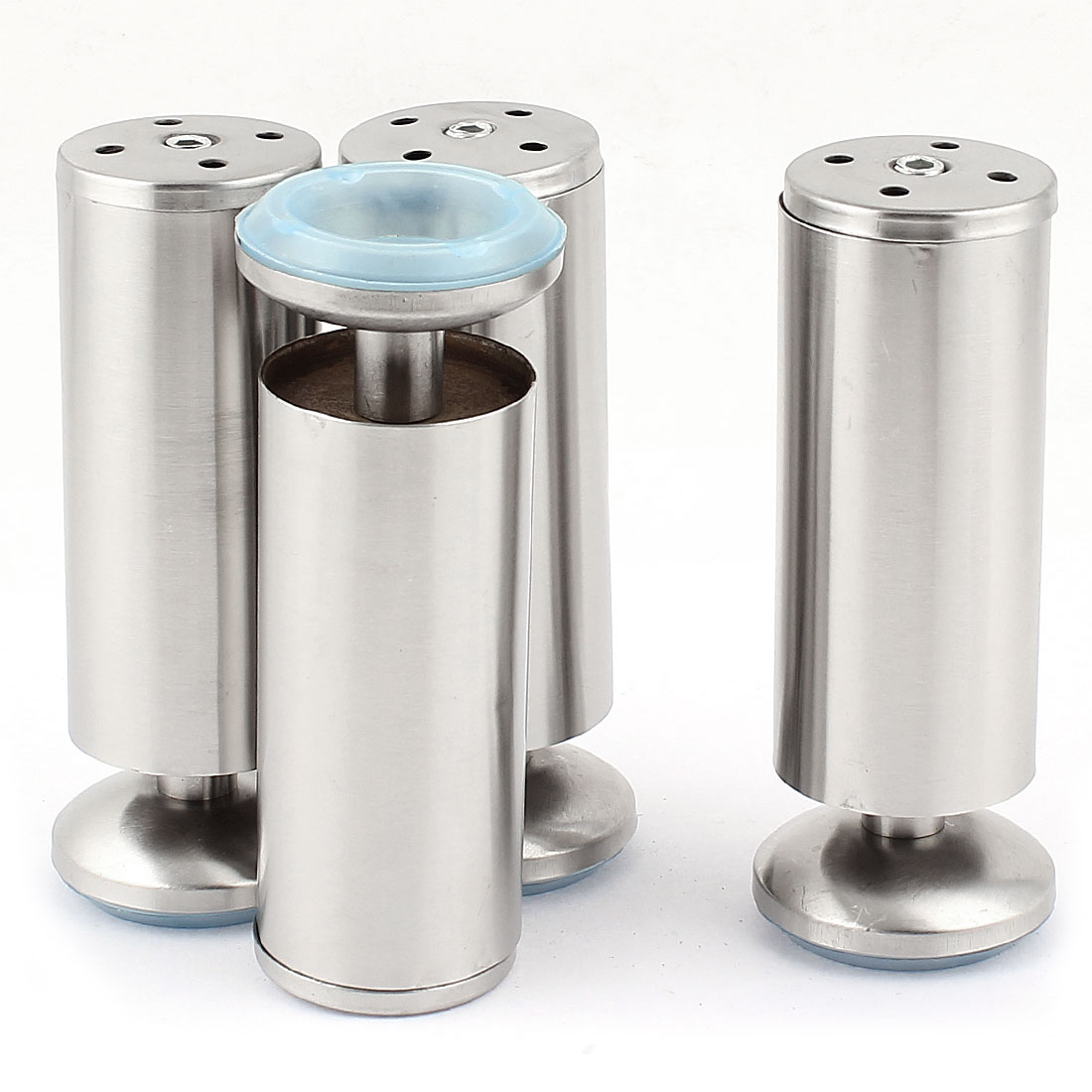 Kitchen Furniture Cylinder Cabinet Adjustable Legs Sofa Beds Feet 4pcs