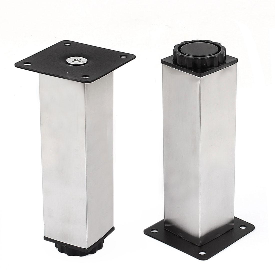 Kitchen Furniture 38mmx150mm Adjustable Cabinet Leg Plinth Feet 2pcs