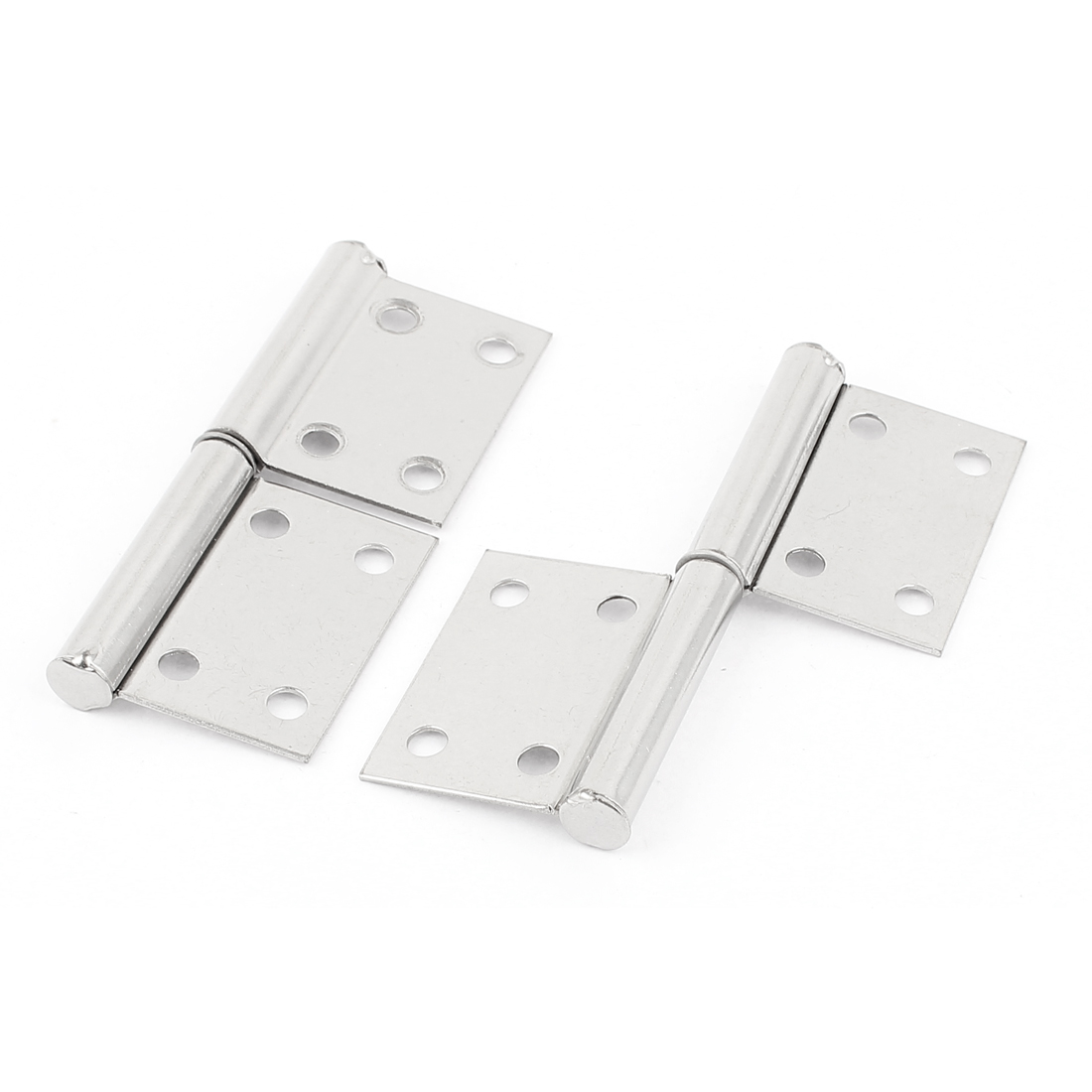 "Kitchen Cabinet Straight Square 4"" Corner Interior Door Hinge 2pcs"