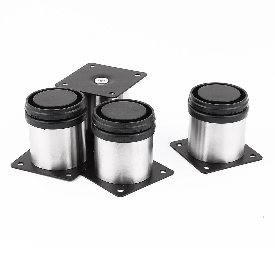 Kitchen Furniture 60mm Adjustable Cabinet Legs Feet Plinth 4pcs