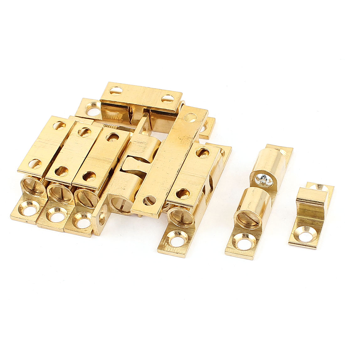 Ajustable Door Mortice Double Ball Catch Latch 42mm Length 8pcs
