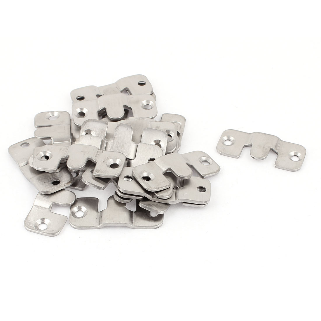 Stainless Steel Universal Sectional Sofa Interlocking Furniture Connector 20pcs