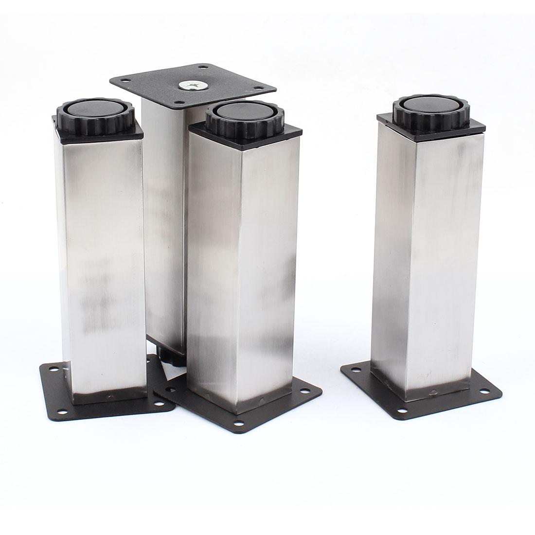 Kitchen Furniture Cabinet 150mm Square Adjustable Leg Plinth 4pcs