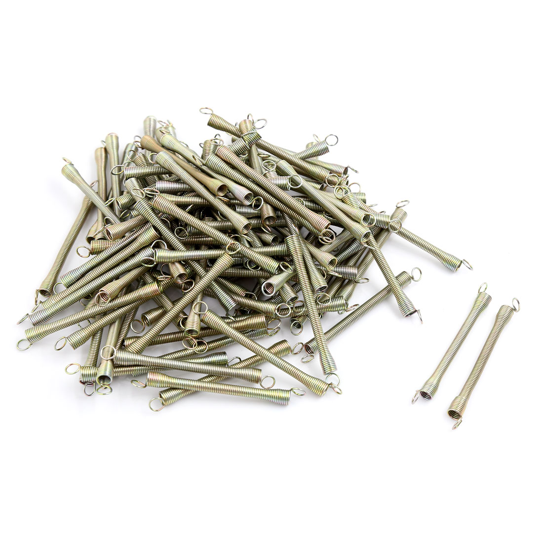 100 Pcs Mud Flaps Fenders Fixed Spring 75mm for Motorcycle