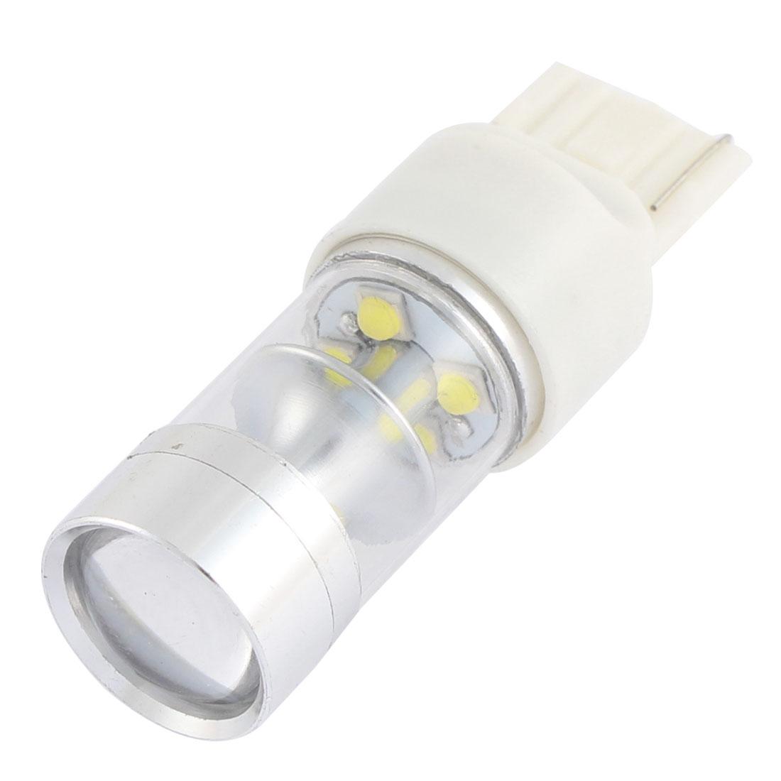 7440 7441 W21W White 10-LED Turn Signal Reverse Light Brake Tail Lamp Bulb 50W