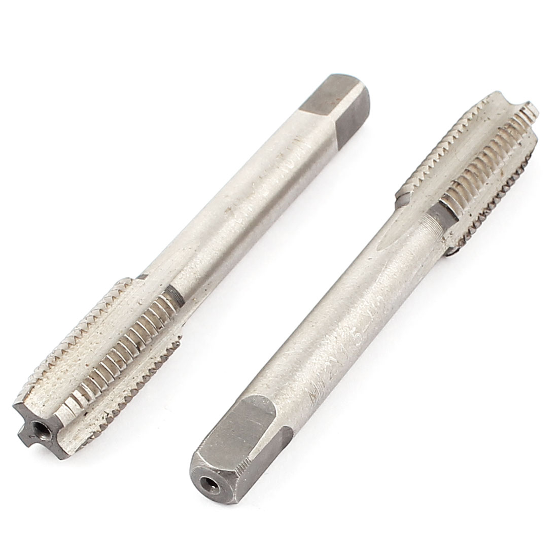 M12x1.5mm Straight 4 Flutes Metric Bottoming Taper Hand Taps 2pcs