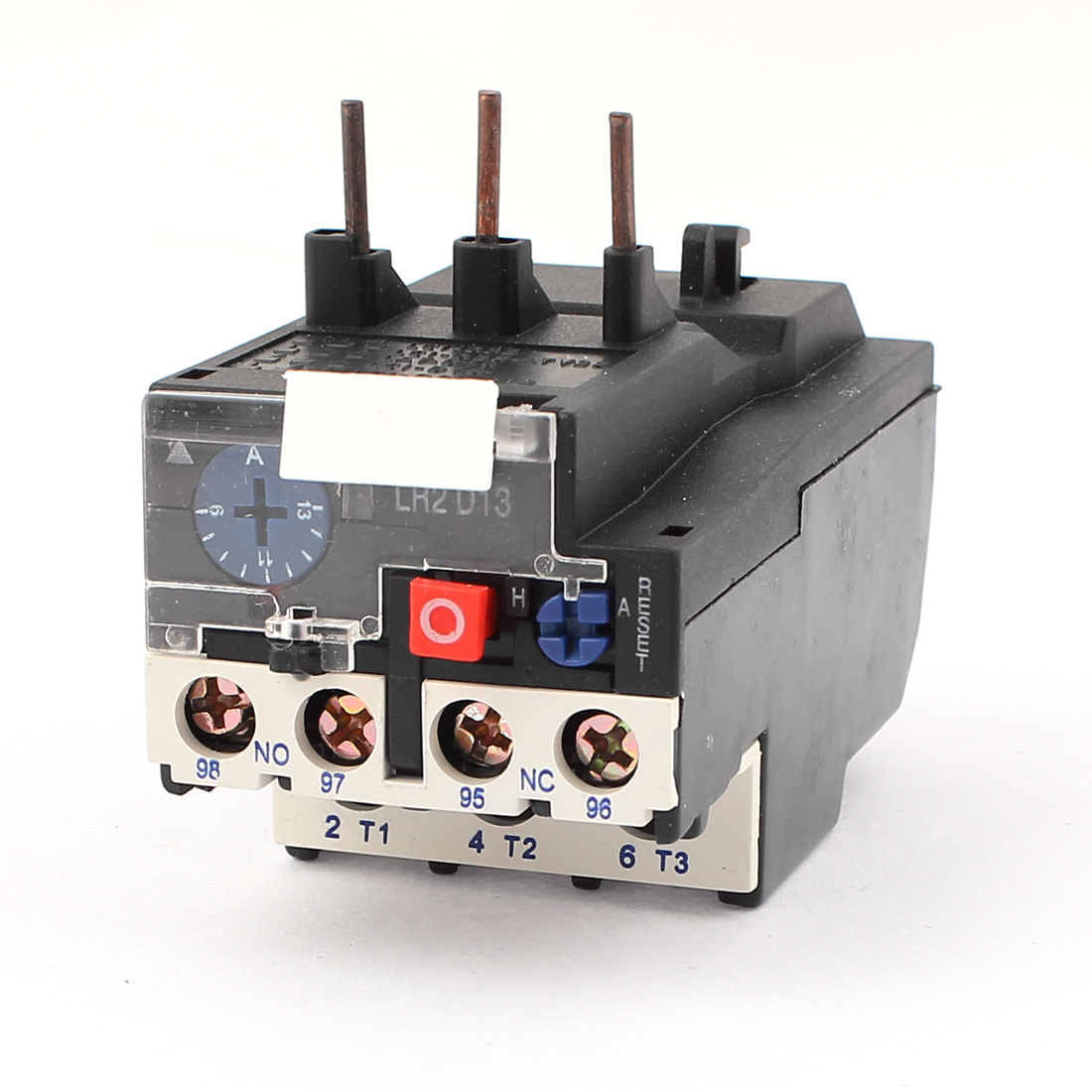 JR28-25 13A 1NO 1NC 3 Phases Adjustable Motor Protector Electric Thermal Overload Relay