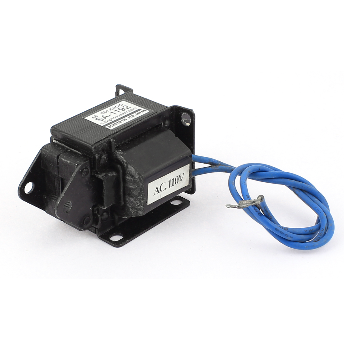 AC 110V 10mm 0.8kg Push Pull Type Lifting Magnet Solenoid Electromagnet Actuator