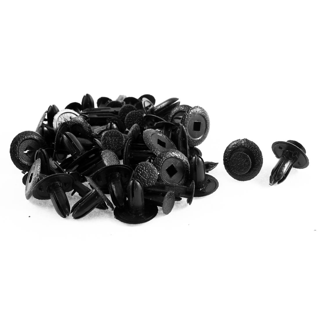 32Pcs Door Card Trim Retainer Car Nail Clip Black for Mazda