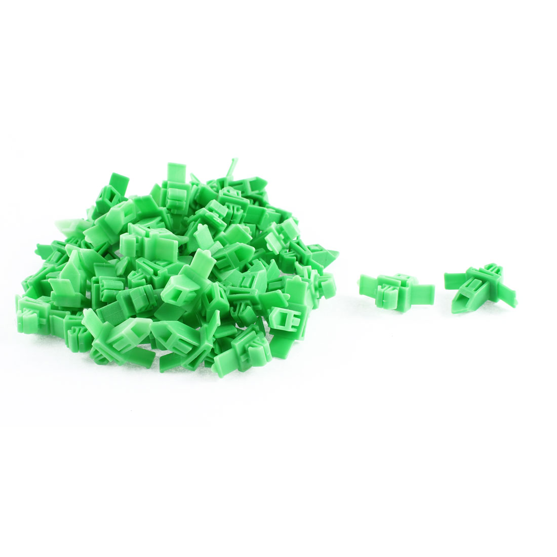 52Pcs Green Door Card Trim Moulding Retainer Clips 9 x 7mm Hole for Toyota