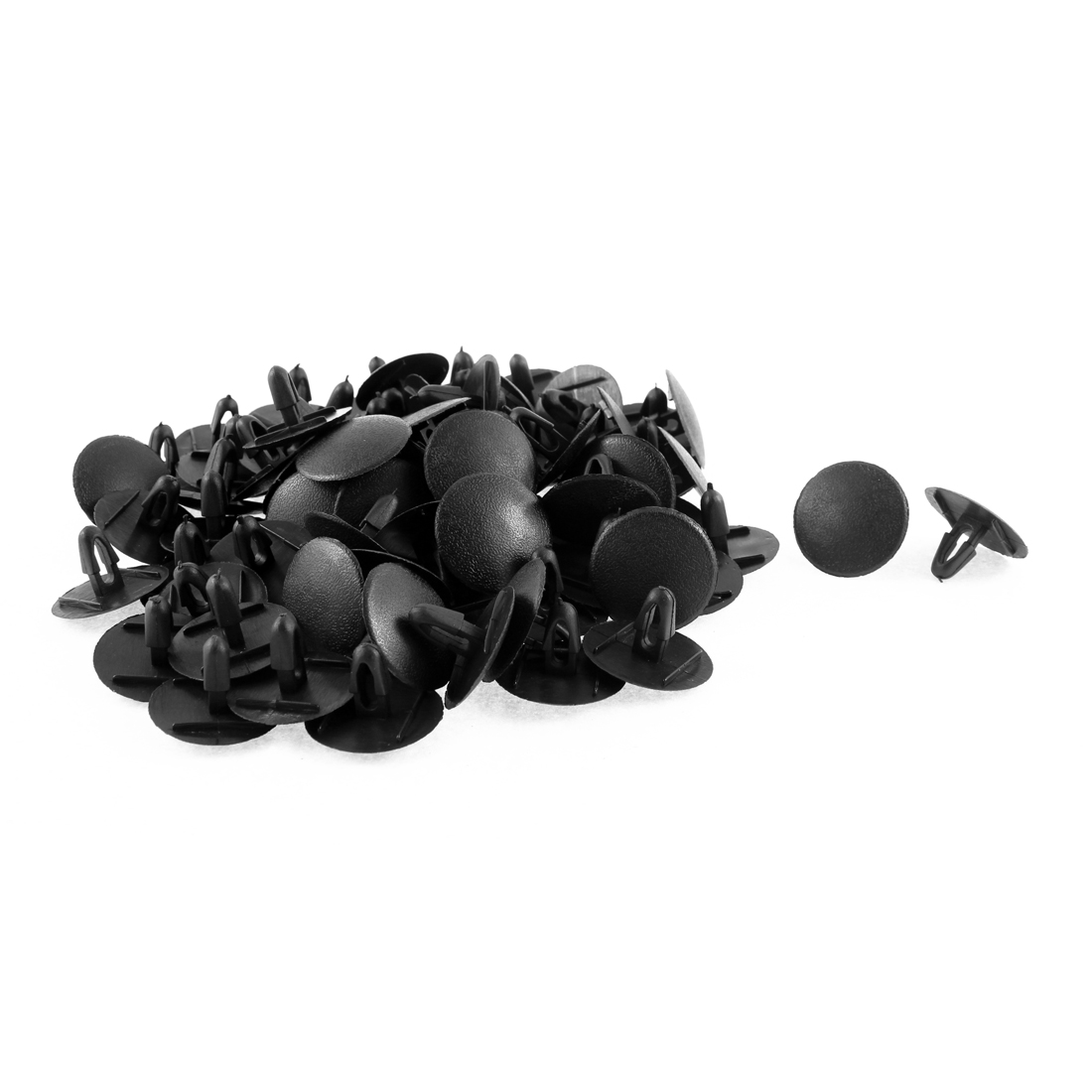 82Pcs Black Machine Cover Retainer Clips for Toyota