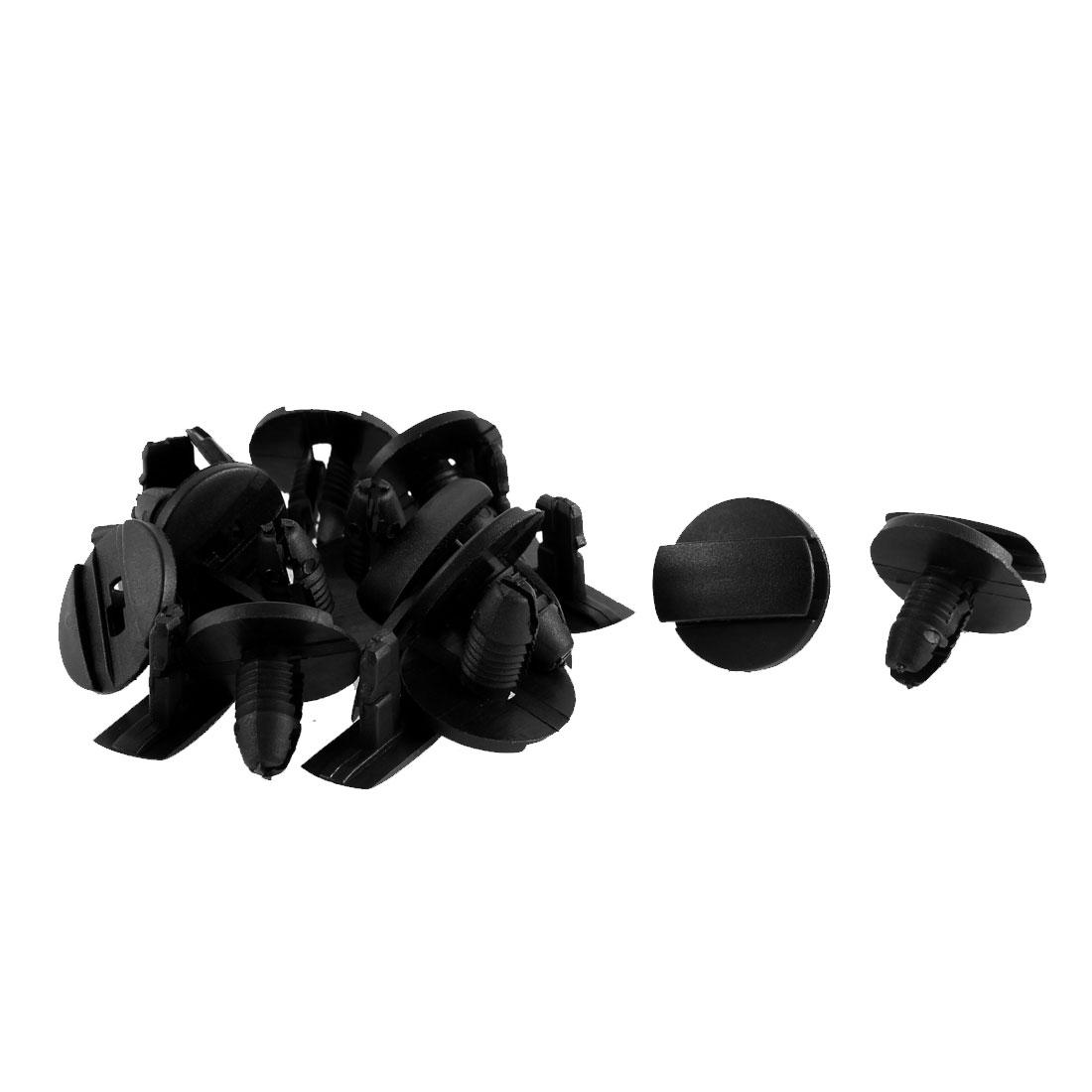 12 Pcs Plastic Bumper Rivet Clips Nail 9mm Hole for Peugeot