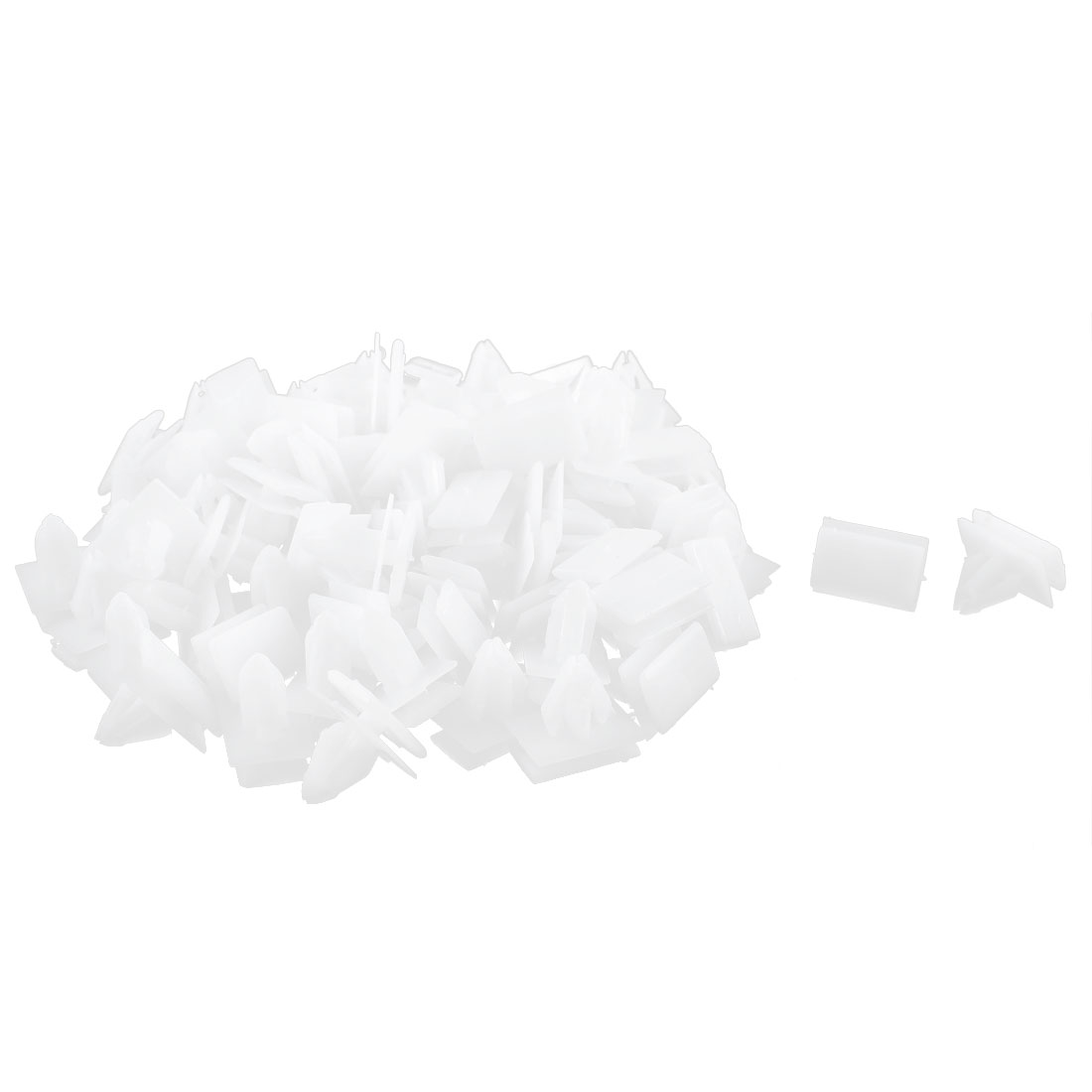 82Pcs White Under Beam Retainer Plastic Clip for Buick Excelle