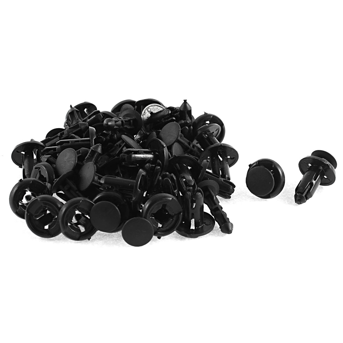 32Pcs Plastic Push-Type Bumper Retainer Clip 8 x 17 x 20mm for Toyota