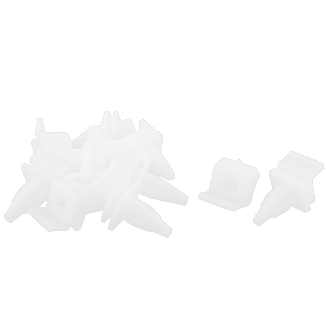 12Pcs White Under Beam Retainer Auto Trim Clips for Honda