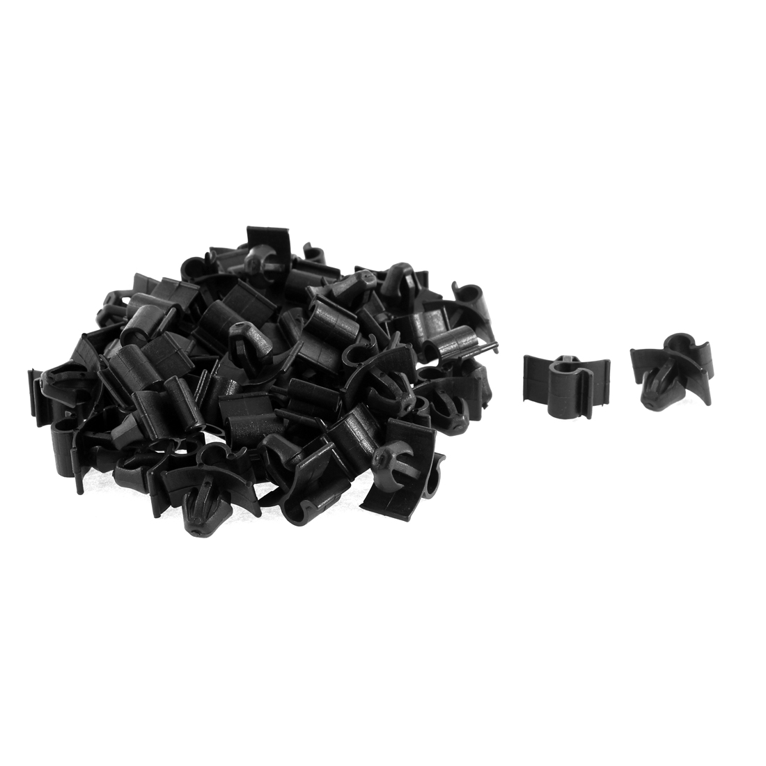 52 Pcs Plastic Bonnet Prop Support Rod Fastener Clip for Peugeot