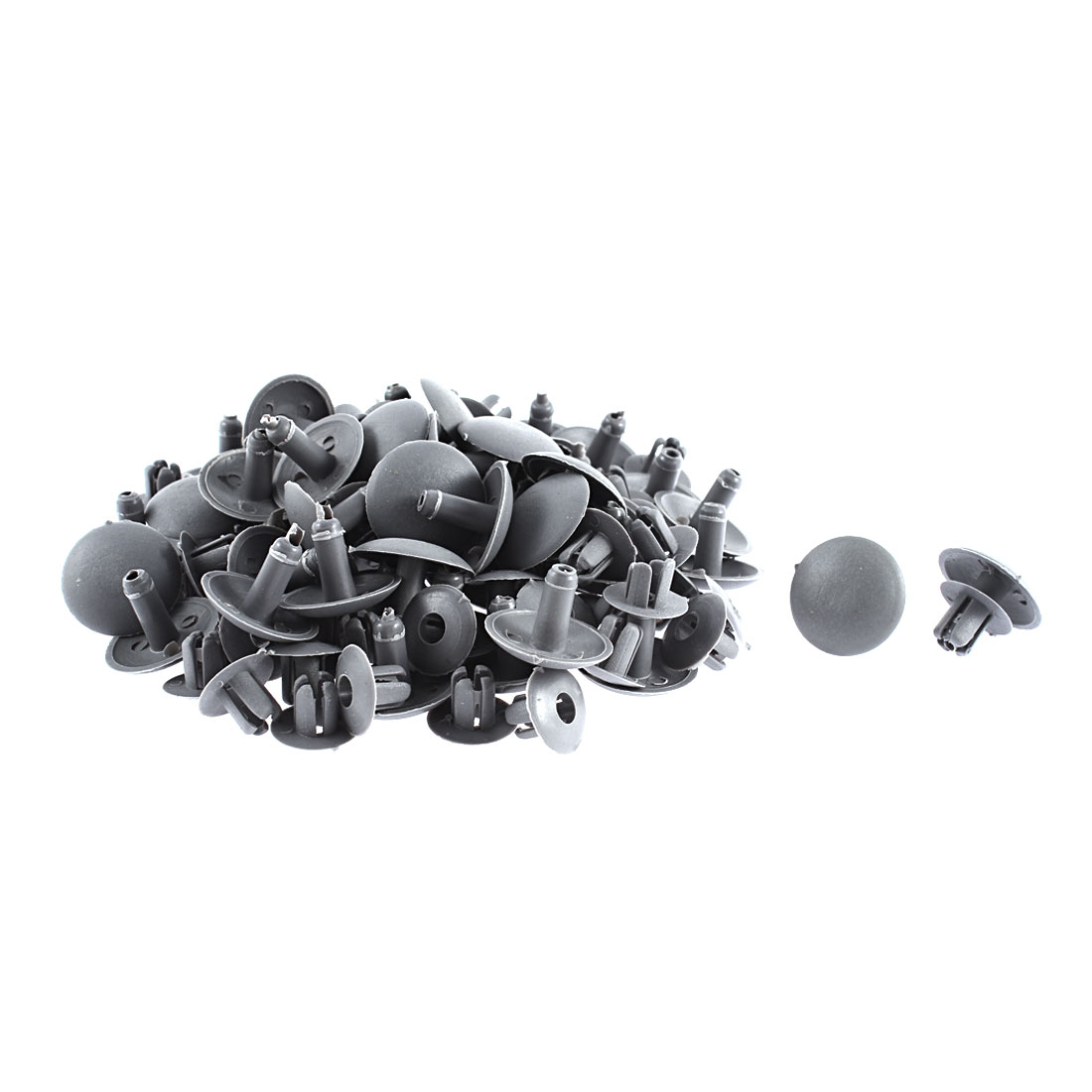 52Pcs Gray Door Trim Retainer Clips 8mm Hole 22mm Head for Pick-up