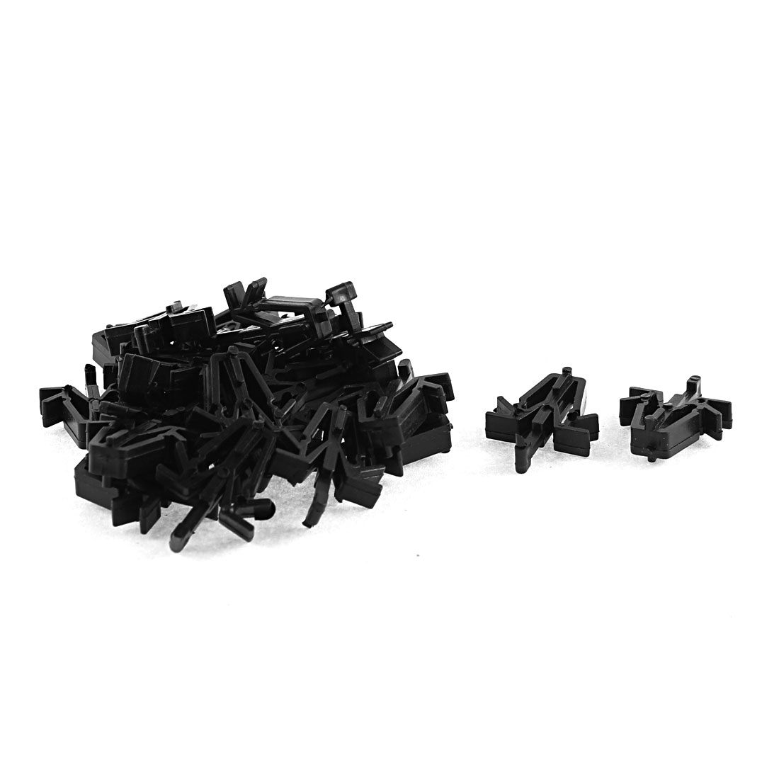 22Pcs Black Plastic Auto Trim Luggage Net Fastener Clip for Toyota
