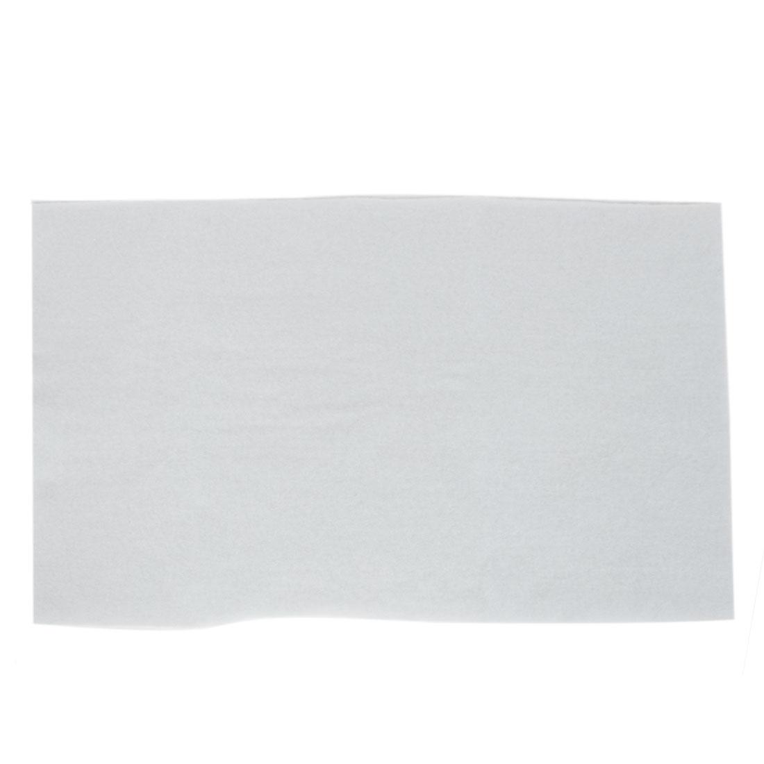 Aquarium Rectangle Sponge Biochemical Fresh Water Filter 58 x 41 x 1cm White