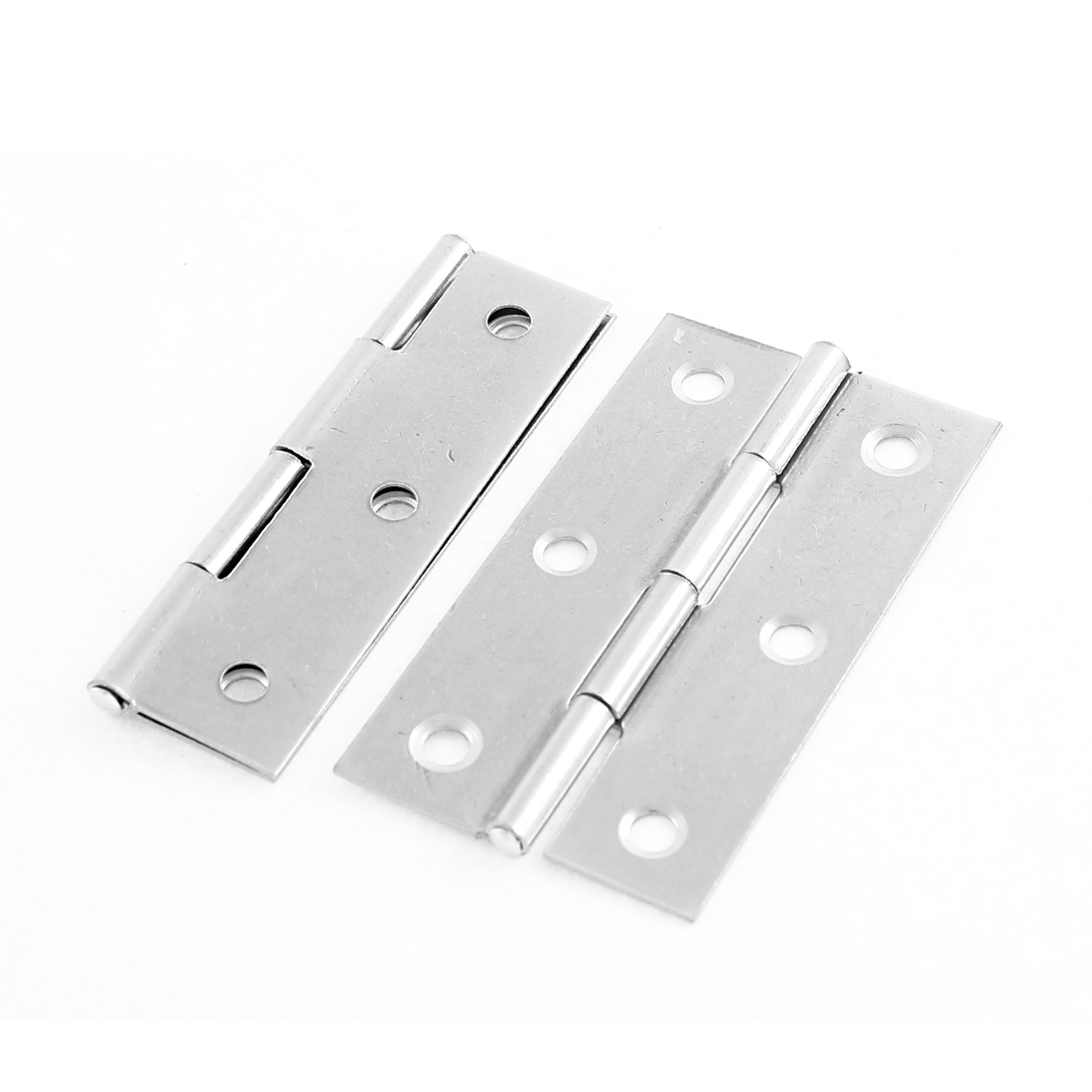"Home Cabinet Chest Cupboard Door Stainless Steel Butt Hinge 3"" 2 PCS"