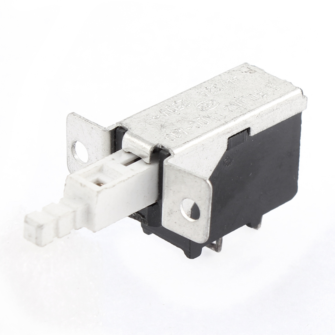 AC 250V 4A/32A SPST 2 Terminal Latching Unidirectional Push Button Switch