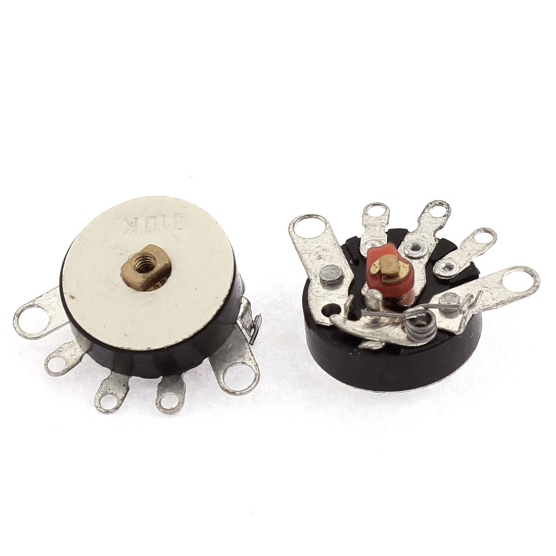 Original Thumbwheel B Type 10k Splitshaft Volume Potentiometer 2pcs