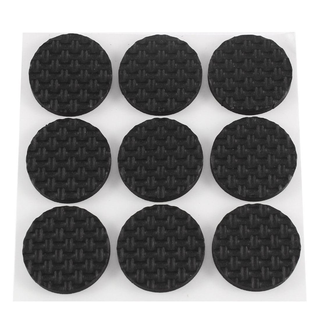 9pcs 25mm Round Self Adhesive Chair Table Furniture Pads Floor Scratch Protector