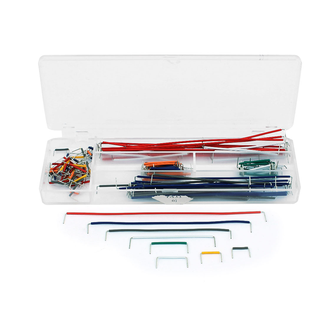 140 Pcs Breadboard Jumper Cable Wire Kit for Board