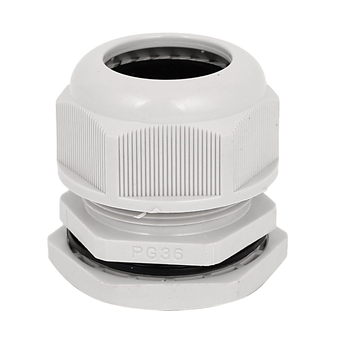 PG36 22-32mm Waterproof Cable Gland Wire Fixing Connect Connector Locknut White