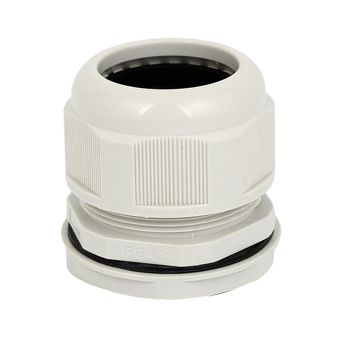 PG42 23-36mm Range Waterproof Cable Gland Cord Wire Fixing Connect Connector Joints White
