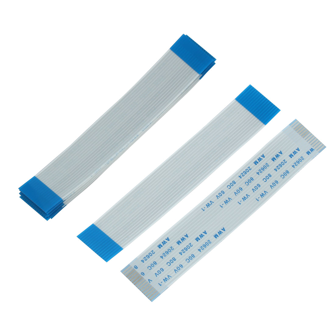 10pcs 1.0mm Spacing 15 Pin Flexible Flat Ribbon Cable FPC FFC Connect Wire Cord 90mm Length