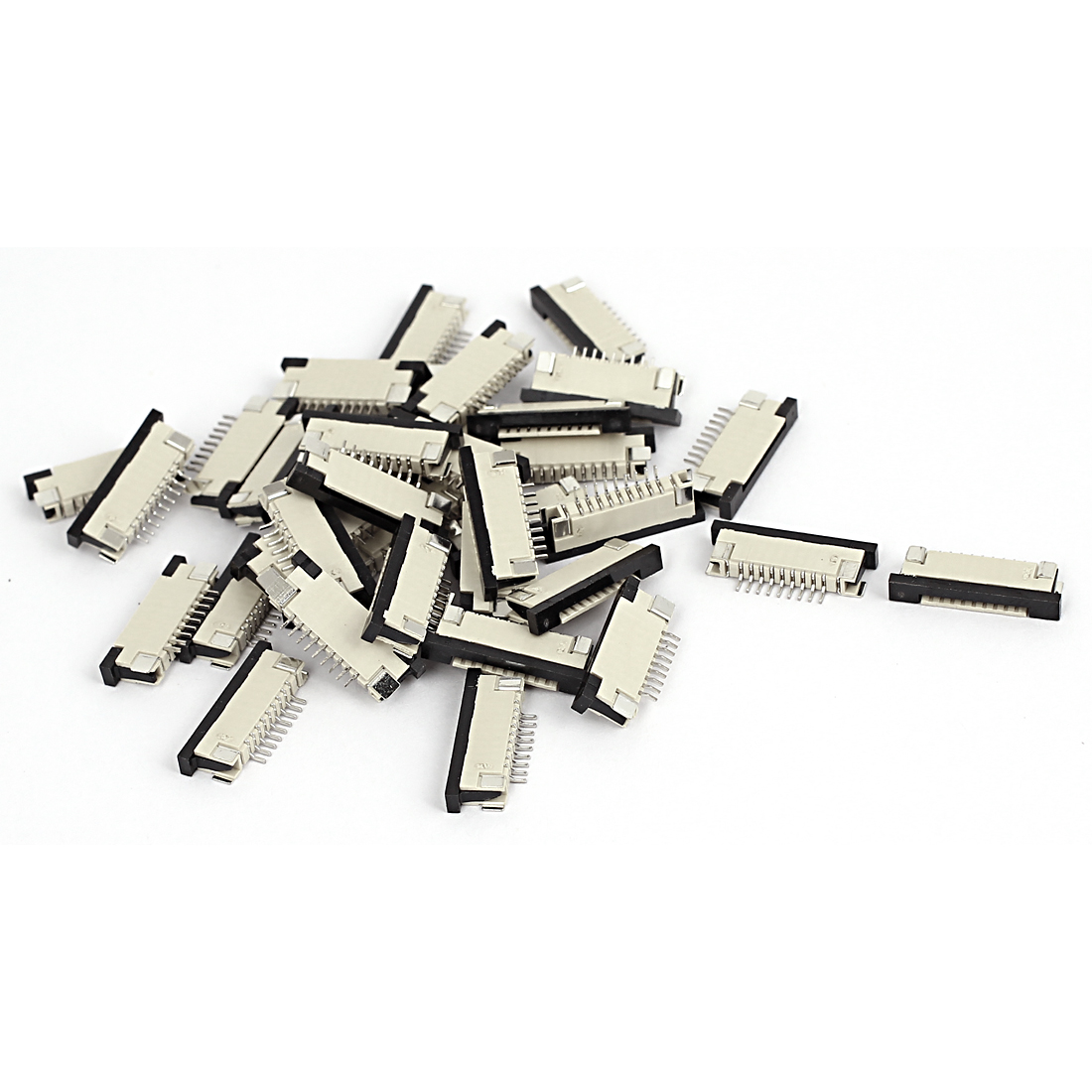 1.0mm Pitch 9 Pin FFC FPC Flexible Flat Cable Ribbon Cord Upper Connector Socket 36pcs