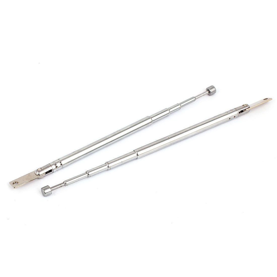 2pcs 27cm Length 5 Sections Telescopic Antenna Aerial Mast for TV RC Controller
