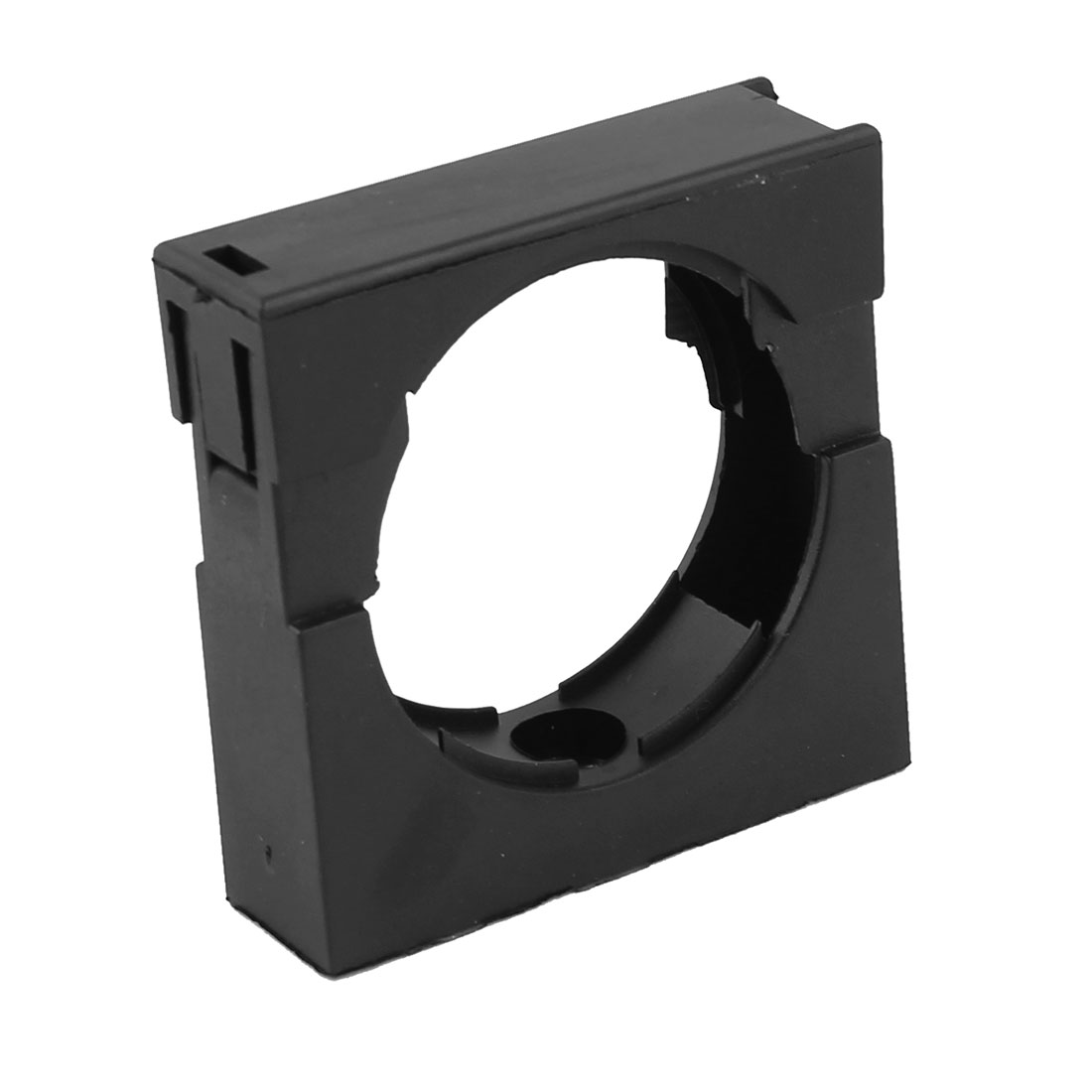 Black Fixed Mount Pipe Clip Bracket Clamp for AD54.5 Corrugated Conduit