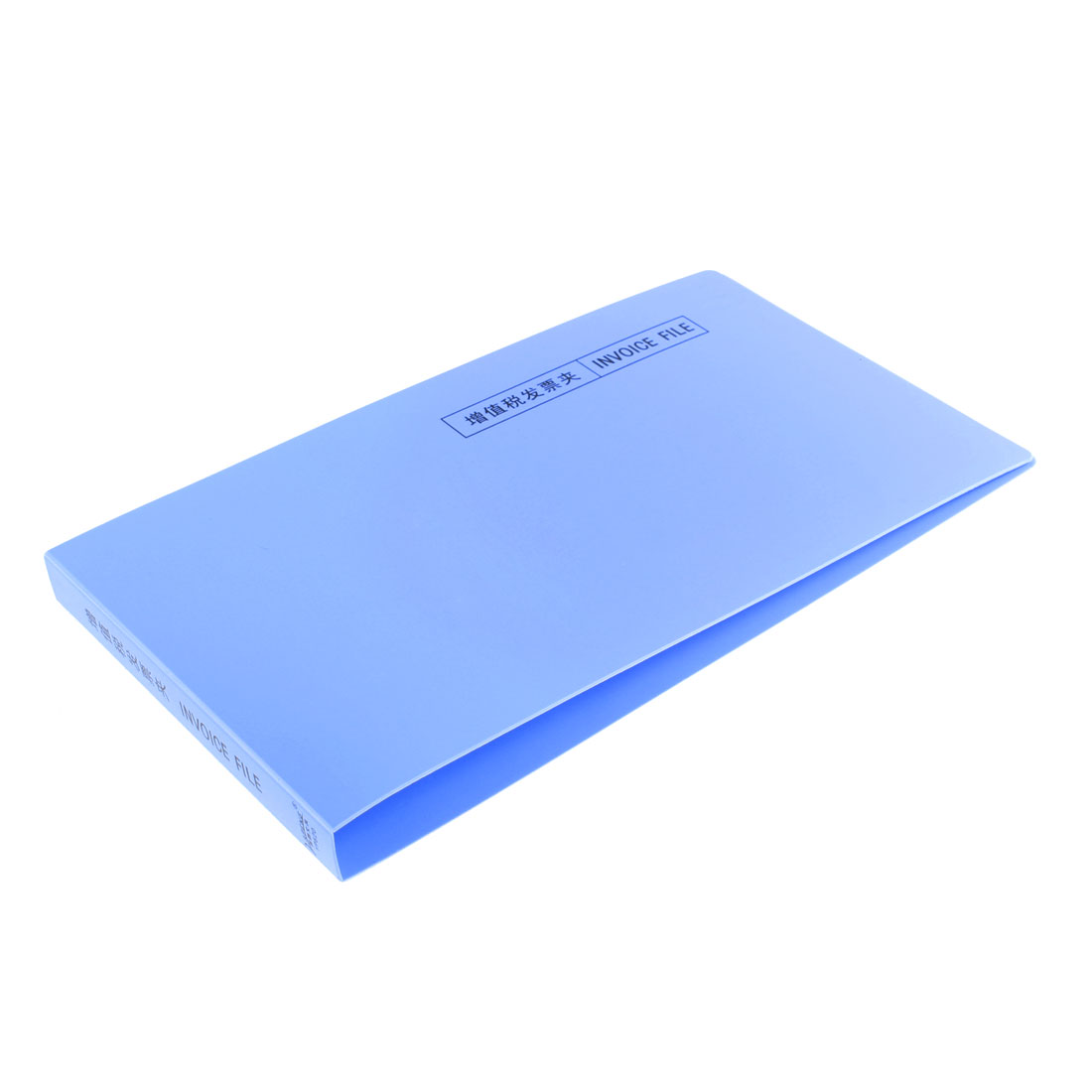 Office Metal Lever Clip Documents Receipt Invoice Organizer File Folder Blue